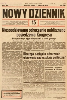 Nowy Dziennik. 1937, nr221