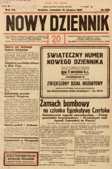 Nowy Dziennik. 1937, nr225