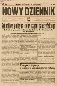 Nowy Dziennik. 1937, nr226