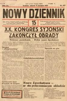 Nowy Dziennik. 1937, nr227