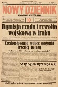 Nowy Dziennik (wydanie wieczorne). 1937, nr227