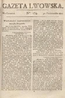 Gazeta Lwowska. 1817, nr174