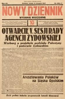 Nowy Dziennik (wydanie wieczorne). 1937, nr228