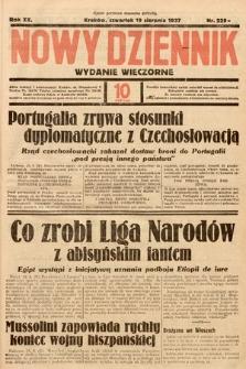 Nowy Dziennik (wydanie wieczorne). 1937, nr229