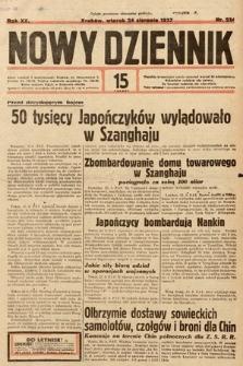 Nowy Dziennik. 1937, nr234
