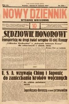 Nowy Dziennik (wydanie wieczorne). 1937, nr234