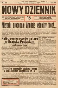 Nowy Dziennik. 1937, nr235