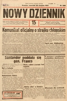 Nowy Dziennik. 1937, nr236
