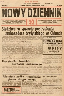 Nowy Dziennik. 1937, nr238