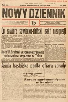 Nowy Dziennik. 1937, nr240