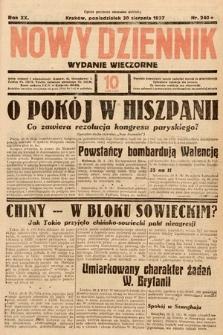 Nowy Dziennik (wydanie wieczorne). 1937, nr240