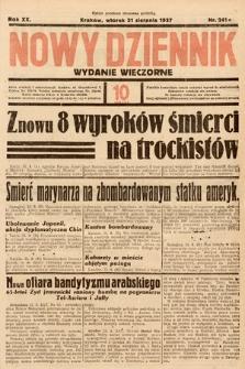 Nowy Dziennik (wydanie wieczorne). 1937, nr241