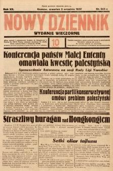 Nowy Dziennik (wydanie wieczorne). 1937, nr243