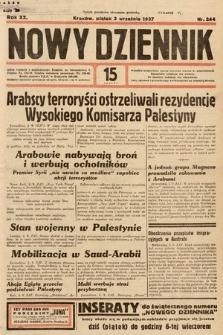 Nowy Dziennik. 1937, nr244