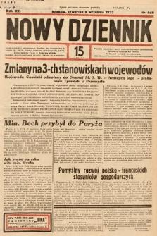 Nowy Dziennik. 1937, nr248