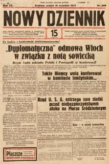 Nowy Dziennik. 1937, nr249