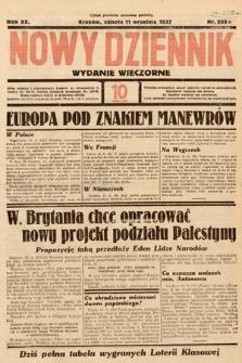 Nowy Dziennik (wydanie wieczorne). 1937, nr250