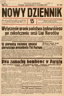 Nowy Dziennik. 1937, nr252
