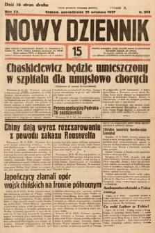 Nowy Dziennik. 1937, nr258