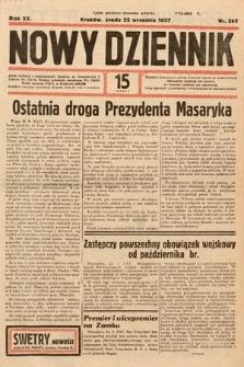 Nowy Dziennik. 1937, nr260