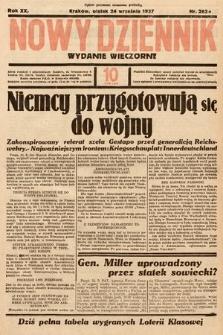 Nowy Dziennik (wydanie wieczorne). 1937, nr262