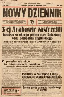 Nowy Dziennik. 1937, nr266