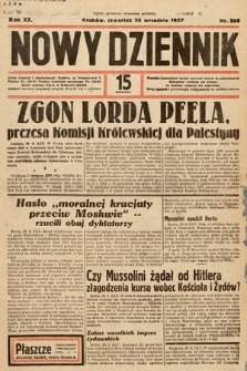 Nowy Dziennik. 1937, nr268