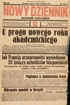 Nowy Dziennik (wydanie wieczorne). 1937, nr269