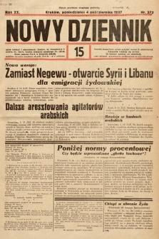 Nowy Dziennik. 1937, nr272
