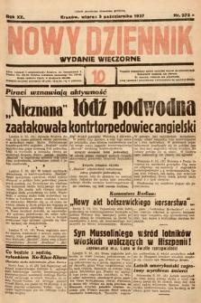 Nowy Dziennik (wydanie wieczorne). 1937, nr273