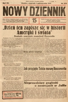 Nowy Dziennik. 1937, nr275