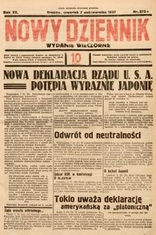 Nowy Dziennik (wydanie wieczorne). 1937, nr275