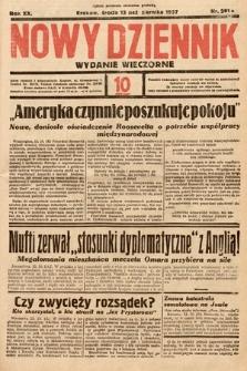 Nowy Dziennik (wydanie wieczorne). 1937, nr281