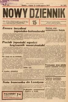 Nowy Dziennik. 1937, nr283
