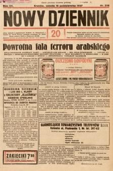 Nowy Dziennik. 1937, nr284