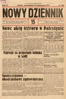 Nowy Dziennik. 1937, nr286