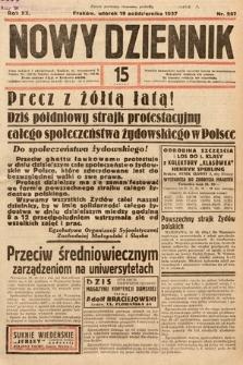 Nowy Dziennik. 1937, nr287
