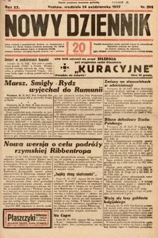 Nowy Dziennik. 1937, nr292