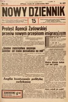 Nowy Dziennik. 1937, nr295