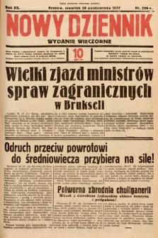 Nowy Dziennik (wydanie wieczorne). 1937, nr296