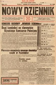 Nowy Dziennik. 1937, nr298