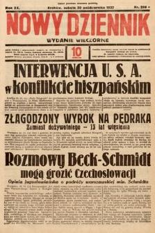 Nowy Dziennik (wydanie wieczorne). 1937, nr298