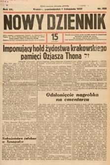 Nowy Dziennik. 1937, nr300