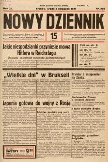 Nowy Dziennik. 1937, nr302