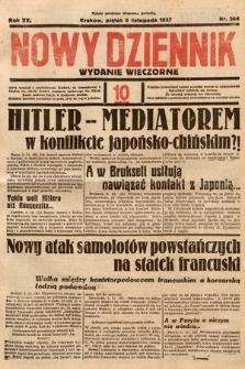 Nowy Dziennik (wydanie wieczorne). 1937, nr304