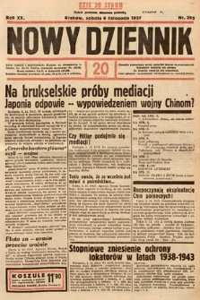 Nowy Dziennik. 1937, nr305