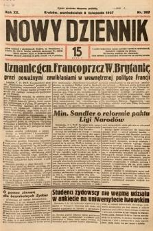 Nowy Dziennik. 1937, nr307