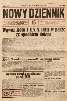 Nowy Dziennik. 1937, nr309
