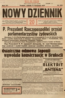 Nowy Dziennik. 1937, nr312