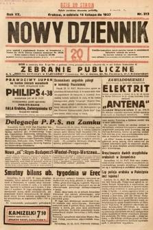Nowy Dziennik. 1937, nr313